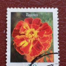 Sellos: ALEMANIA 2005. FLORES, TAGETES. Lote 134341198