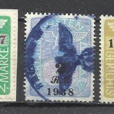 Selos: 9106-LOTE RAROS SELLOS ALEMANIA NAZI 1938-1942 REICH CRUZ GAMADA ESVASTICA.IMPERIO ALEMAN 2ª GUERRA. Lote 134379182