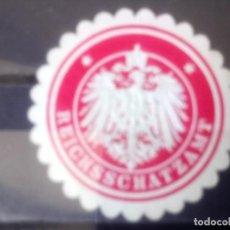 Selos: ALEMANIA, ANTIGUO SELLO DEL TESORO DEL REICH. Lote 135415138