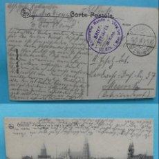Sellos: FILATELIA - PRIMERA GUERRA MUNDIAL - ALEMANIA - FELDPOST CORREO DE CAMPAÑA - 13-7-1915 - VER MARCAS . Lote 135813502