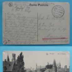 Sellos: FILATELIA - PRIMERA GUERRA MUNDIAL - ALEMANIA - FELDPOST CORREO DE CAMPAÑA - 2-4-1915 - VER MARCAS . Lote 135813638