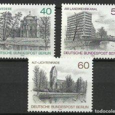 Sellos: ALEMANIA (BERLIN) - 1978 - MICHEL 578/580** MNH. Lote 262076340