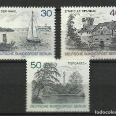 Sellos: ALEMANIA (BERLIN) - 1976 - MICHEL 529/531** MNH. Lote 262076370