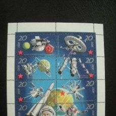 Sellos: ALEMANIA ORIENTAL DDR 1971 IVERT 1326/33 *** SATELITES RUSOS - CONQUISTA DEL ESPACIO. Lote 136736014