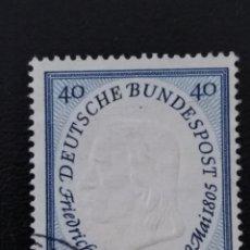 Sellos: ALEMANIA FEDERAL, 1955, YVERT 86. Lote 137620788