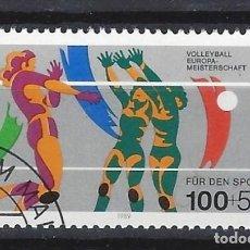 Sellos: ALEMANIA / BERLÍN 1989 / DEPORTES - SELLO MATASELLADO MNH**. Lote 140316534