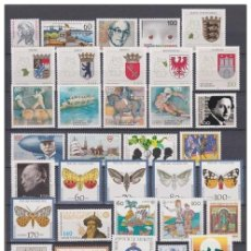 Sellos: GERMANY 1992 - COMPLETE YEAR MNH **. Lote 140417082