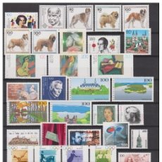 Sellos: GERMANY 1996 - COMPLETE YEAR MNH **. Lote 140417318