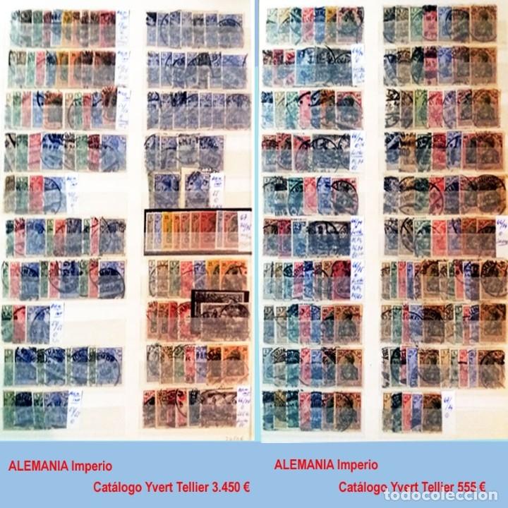 Sellos: CLASIFICADOR CONTENIENDO PEQUEÑO STOCK SELLOS Y SERIES.ALEMANIA IMPERIO ANOS 1872 A 1944.Nuevo-Usado - Foto 4 - 140905950