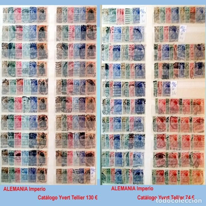 Sellos: CLASIFICADOR CONTENIENDO PEQUEÑO STOCK SELLOS Y SERIES.ALEMANIA IMPERIO ANOS 1872 A 1944.Nuevo-Usado - Foto 6 - 140905950