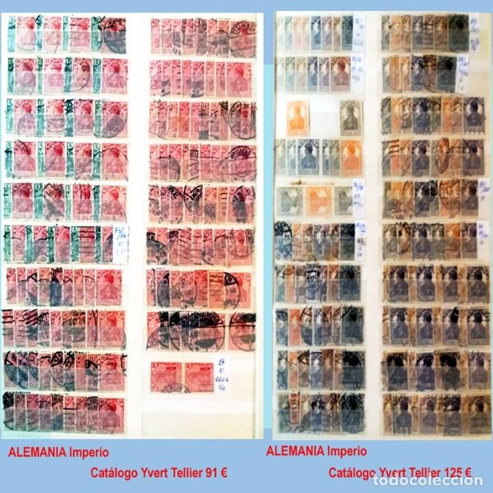 Sellos: CLASIFICADOR CONTENIENDO PEQUEÑO STOCK SELLOS Y SERIES.ALEMANIA IMPERIO ANOS 1872 A 1944.Nuevo-Usado - Foto 7 - 140905950