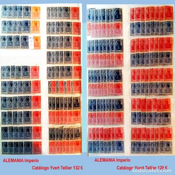 Sellos: CLASIFICADOR CONTENIENDO PEQUEÑO STOCK SELLOS Y SERIES.ALEMANIA IMPERIO ANOS 1872 A 1944.Nuevo-Usado - Foto 10 - 140905950