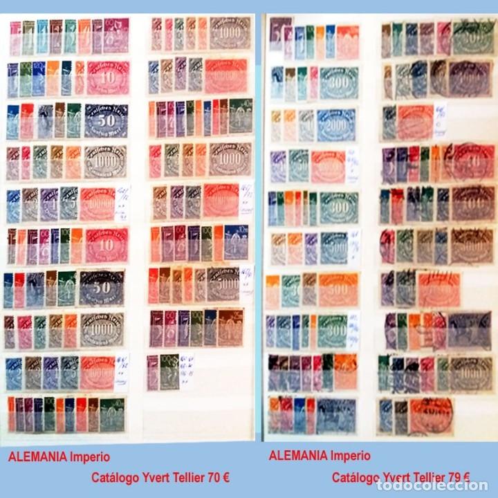 Sellos: CLASIFICADOR CONTENIENDO PEQUEÑO STOCK SELLOS Y SERIES.ALEMANIA IMPERIO ANOS 1872 A 1944.Nuevo-Usado - Foto 13 - 140905950