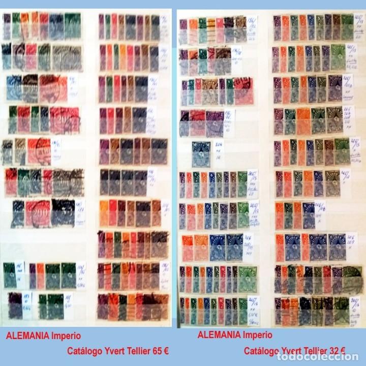 Sellos: CLASIFICADOR CONTENIENDO PEQUEÑO STOCK SELLOS Y SERIES.ALEMANIA IMPERIO ANOS 1872 A 1944.Nuevo-Usado - Foto 14 - 140905950