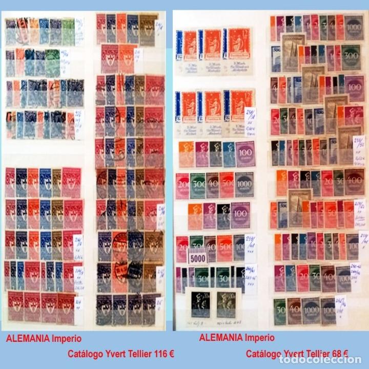 Sellos: CLASIFICADOR CONTENIENDO PEQUEÑO STOCK SELLOS Y SERIES.ALEMANIA IMPERIO ANOS 1872 A 1944.Nuevo-Usado - Foto 15 - 140905950