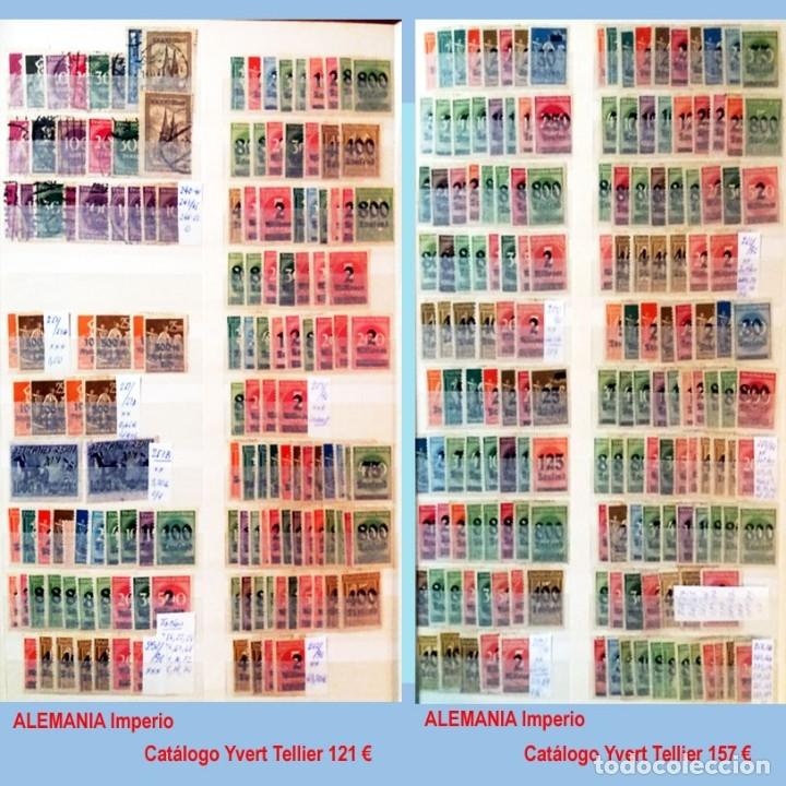 Sellos: CLASIFICADOR CONTENIENDO PEQUEÑO STOCK SELLOS Y SERIES.ALEMANIA IMPERIO ANOS 1872 A 1944.Nuevo-Usado - Foto 16 - 140905950