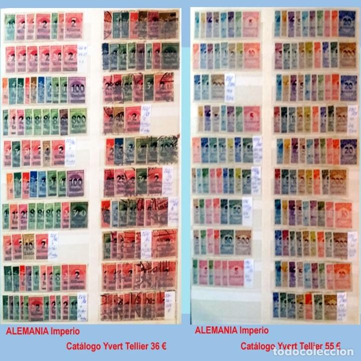 Sellos: CLASIFICADOR CONTENIENDO PEQUEÑO STOCK SELLOS Y SERIES.ALEMANIA IMPERIO ANOS 1872 A 1944.Nuevo-Usado - Foto 17 - 140905950