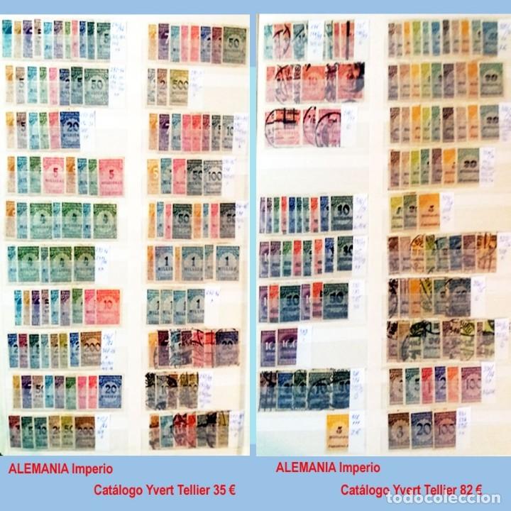 Sellos: CLASIFICADOR CONTENIENDO PEQUEÑO STOCK SELLOS Y SERIES.ALEMANIA IMPERIO ANOS 1872 A 1944.Nuevo-Usado - Foto 18 - 140905950