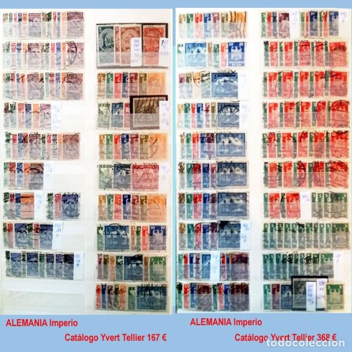 Sellos: CLASIFICADOR CONTENIENDO PEQUEÑO STOCK SELLOS Y SERIES.ALEMANIA IMPERIO ANOS 1872 A 1944.Nuevo-Usado - Foto 19 - 140905950