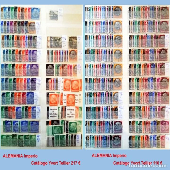 Sellos: CLASIFICADOR CONTENIENDO PEQUEÑO STOCK SELLOS Y SERIES.ALEMANIA IMPERIO ANOS 1872 A 1944.Nuevo-Usado - Foto 22 - 140905950