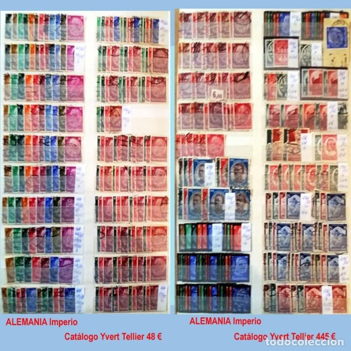 Sellos: CLASIFICADOR CONTENIENDO PEQUEÑO STOCK SELLOS Y SERIES.ALEMANIA IMPERIO ANOS 1872 A 1944.Nuevo-Usado - Foto 23 - 140905950