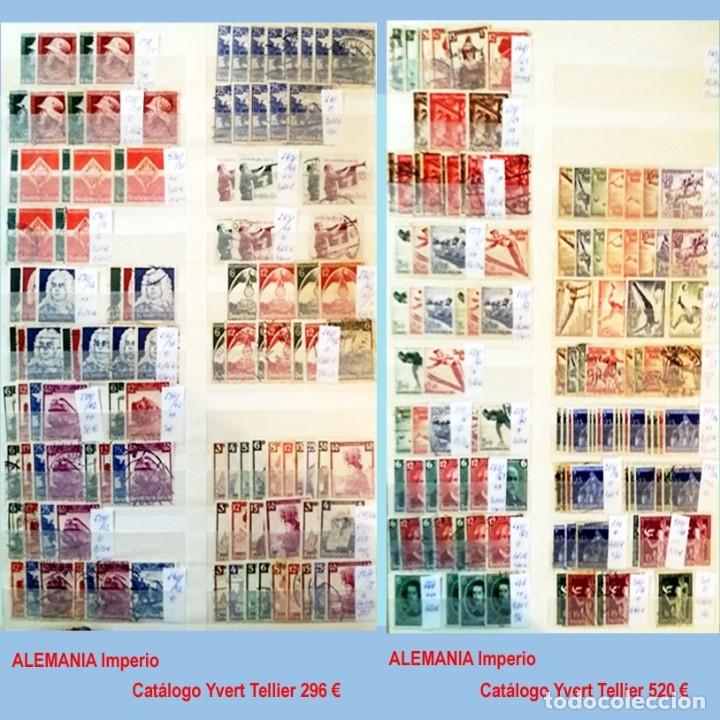 Sellos: CLASIFICADOR CONTENIENDO PEQUEÑO STOCK SELLOS Y SERIES.ALEMANIA IMPERIO ANOS 1872 A 1944.Nuevo-Usado - Foto 24 - 140905950