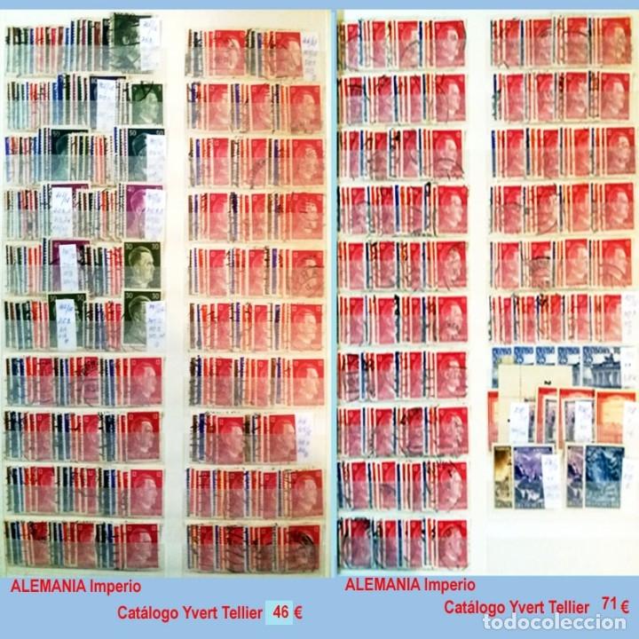 Sellos: CLASIFICADOR CONTENIENDO PEQUEÑO STOCK SELLOS Y SERIES.ALEMANIA IMPERIO ANOS 1872 A 1944.Nuevo-Usado - Foto 28 - 140905950
