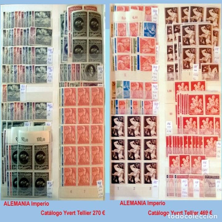Sellos: CLASIFICADOR CONTENIENDO PEQUEÑO STOCK SELLOS Y SERIES.ALEMANIA IMPERIO ANOS 1872 A 1944.Nuevo-Usado - Foto 30 - 140905950