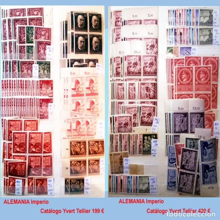 Sellos: CLASIFICADOR CONTENIENDO PEQUEÑO STOCK SELLOS Y SERIES.ALEMANIA IMPERIO ANOS 1872 A 1944.Nuevo-Usado - Foto 31 - 140905950