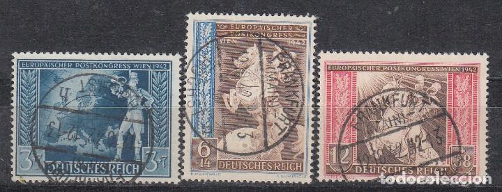 ALEMANIA IMPERIO, 1943 YVERT Nº 746A / 746C (Sellos - Extranjero - Europa - Alemania)