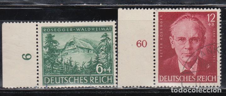 ALEMANIA IMPERIO, 1943 YVERT Nº 773 / 774 (Sellos - Extranjero - Europa - Alemania)