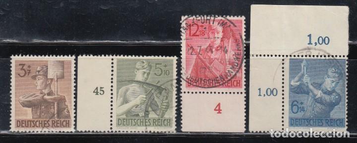 ALEMANIA IMPERIO, 1943 YVERT Nº 769 / 771 (Sellos - Extranjero - Europa - Alemania)