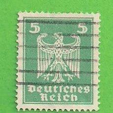 Sellos: ALEMANIA IMPERIO - MICHEL 356 - YVERT 349 - NUEVA ÁGUILA IMPERIAL. (1924).. Lote 143163774