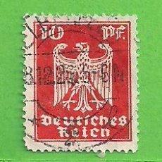 Sellos: ALEMANIA IMPERIO - MICHEL 357 - YVERT 350 - NUEVA ÁGUILA IMPERIAL. (1924).. Lote 143164062