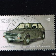 Sellos: SELLO ALEMANIA 2017 - VW GOLF SERI1 . Lote 143613234