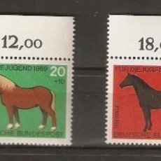 Sellos: ALEMANIA FEDERAL. 1969 . YT Nº 441/444. MICHEL 578/581. . Lote 143747050