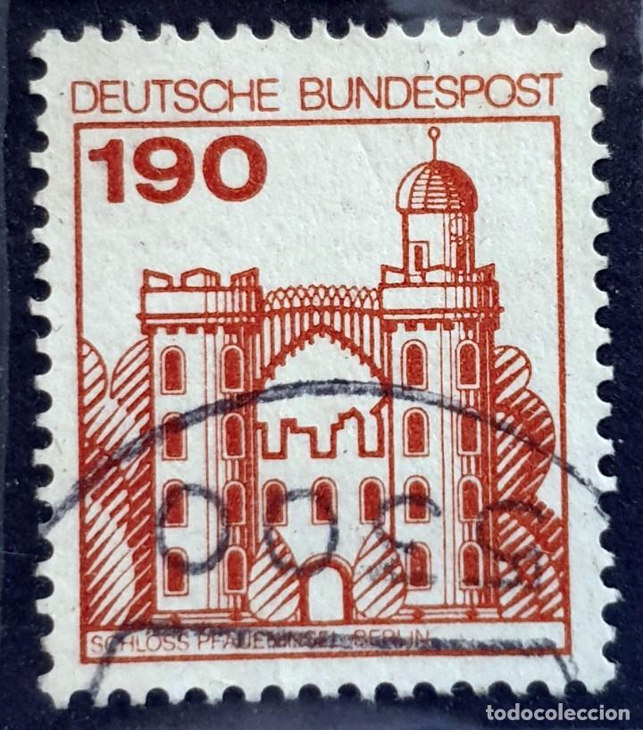 ALEMANIA - DEUTSCHE BUNDESPOST - CASTILLOS Y PALACIOS - CASTILLO DE LA ISLA. BERLÍN - 190 PFG - 19 (Sellos - Extranjero - Europa - Alemania)
