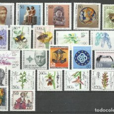 Sellos: ALEMANIA (BERLIN) - 1984 - MICHEL 708/729** MNH (AÑO COMPLETO) (VALOR DE CATALOGO.- 47.00€). Lote 245755310