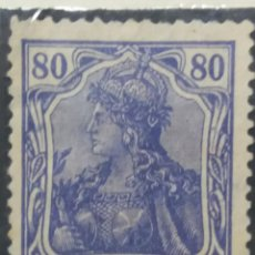 Sellos: SELLO ALEMAN DEUTSCHES REICH, 80, 1920 NUEVO.. Lote 147228042