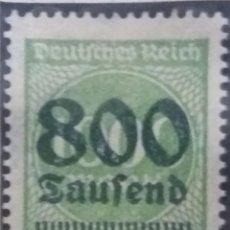 Sellos: SELLO ALEMAN, DEUTSCHES REICH, 800 SAUFEND, 1923 NUEVO.. Lote 147231818