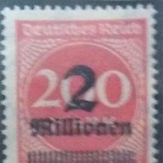 Sellos: SELLO ALEMAN, DEUTSCHES REICH, 200.- 2 MILLIONEN MARK, 1923, NUEVO. Lote 147236482
