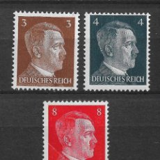 Sellos: ALEMANIA REICH 1941 ** MNH - 10/8. Lote 147388214