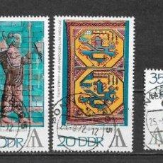 Sellos: ALEMANIA DDR 1972 USADO INTERARTES PHILATELIC EXHIB., BERLÍN, - 9/3. Lote 147558626