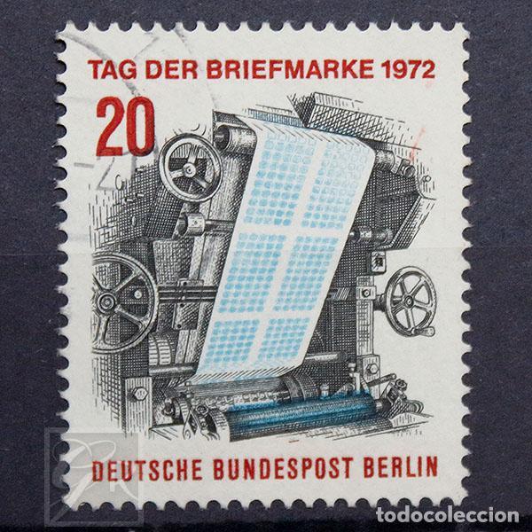 ALEMANIA BERLÍN 1972 • USADO • DÍA DEL SELLO (Sellos - Extranjero - Europa - Alemania)