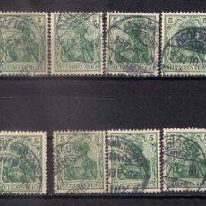 Sellos: ALEMANIA REICH - 5 PF. USED - 9/34. Lote 147575966