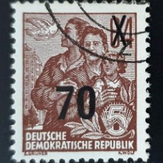 Sellos: REPÚBLICA DEMOCRÁTICA ALEMANA - FAMILIA - 84 PFG - 1953. Lote 147952422