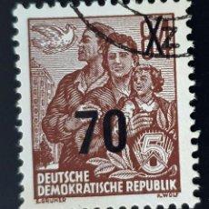 Sellos: REPÚBLICA DEMOCRÁTICA ALEMANA - FAMILIA - 84 PFG - 1953. Lote 147952442