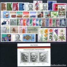 Sellos: ALEMANIA FEDERAL - 1975 - MICHEL 826/874** MNH (AÑO COMPLETO) (VALOR DE CATALOGO.- 40.00€). Lote 148240702