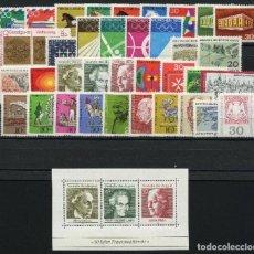 Sellos: ALEMANIA FEDERAL - 1969 - MICHEL 576/611** MNH (AÑO COMPLETO) (VALOR DE CATALOGO.- 17.00€). Lote 148241034