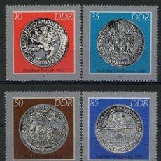 Briefmarken - Alemania Oriental DDR 1986 Ivert 2661/5 *** Monedas Históricas - 148404910